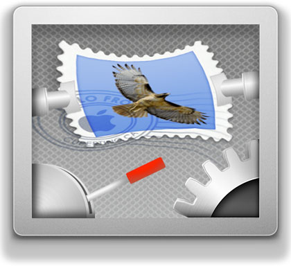 WideMail en Snow Leopard, 3 columnas en Mail