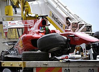 Alonso saldrá mañana desde el Pit-Lane en el GP Mónaco