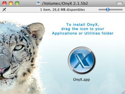 Onyx 2.1.5 Beta 2, gran App de utilidad para Snow Leopard