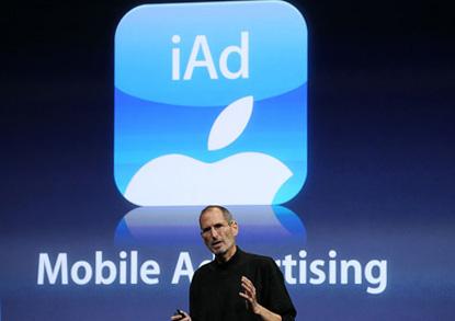 Apple estrenará iAds el 1 de Julio