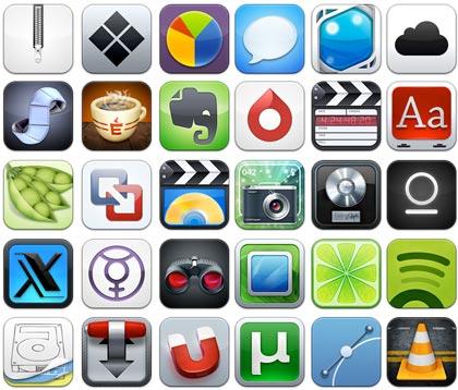 Aquí va una de iconos para tu Mac