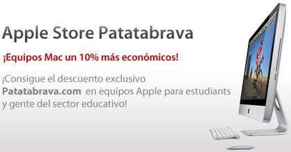 Patatabrava Store, 10% dto en todos los Macs